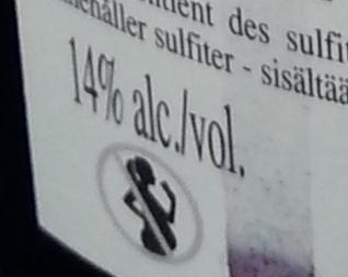 Côtes du Rhône - Nutrition facts - fr