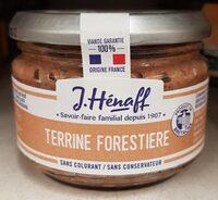 Terrine Forestiere - Produit - fr
