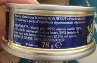 Pāté oignons et petits lardons - Ingredienti - fr