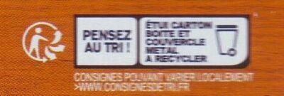 Les Rillettes de Poulet Rôti - Instruction de recyclage et/ou informations d'emballage - fr
