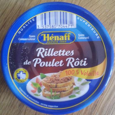 Rillettes de Poulet Rôti - Produit - fr