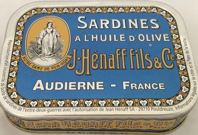 Sardines à l'huile d'olive - Produit