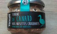 Terrine de canard aux noisettes croquantes - Produit - fr