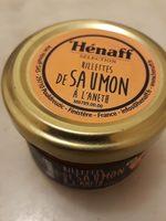 Rillettes de saumon à l'aneth - Product