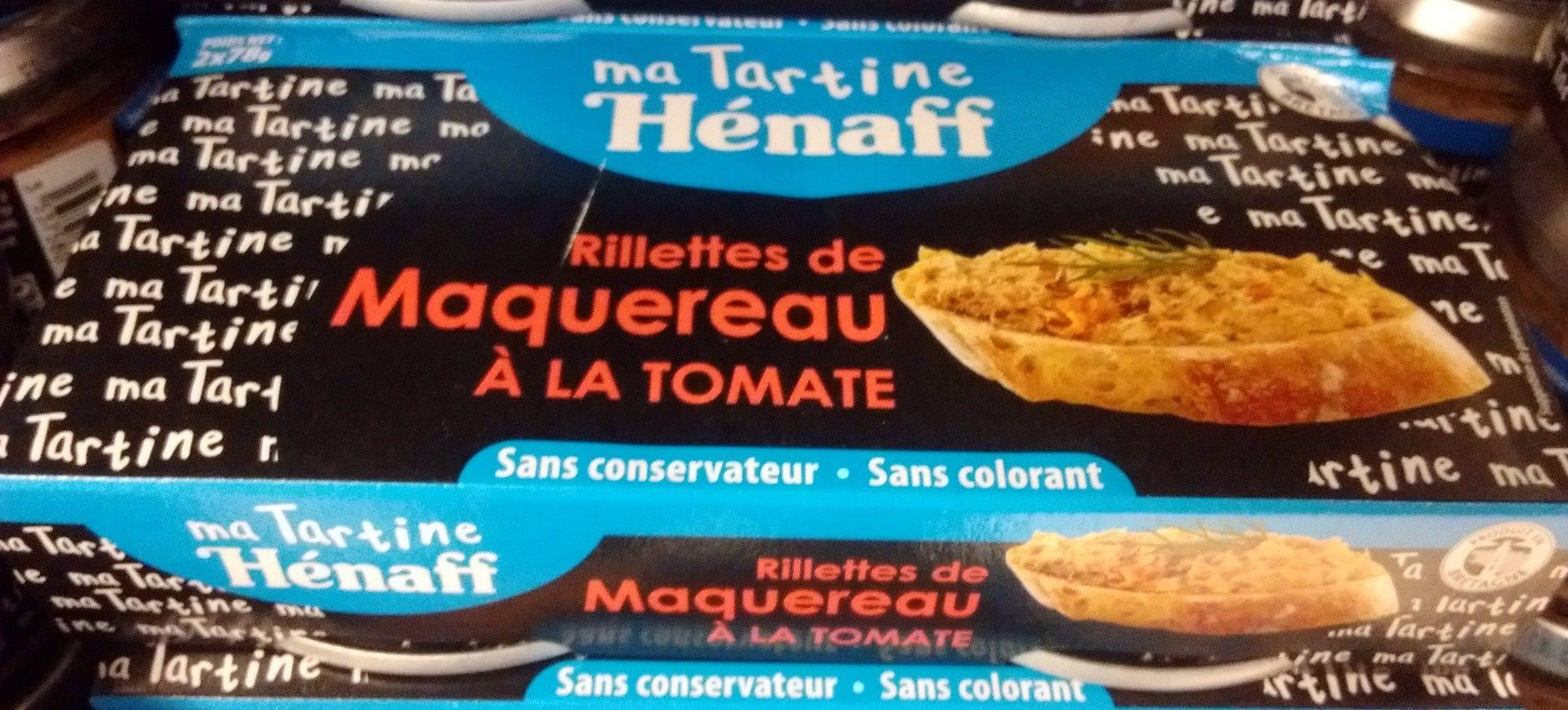 Rillettes de Maquereau à la Tomate - Product - fr