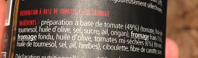 Caviar de tomates - Ingredients