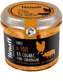Confit de foie au cognac fine Champagne - Product - fr