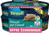 LOT MOUSSE CANARD - Produit