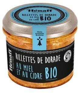 Rillette de dorade au miel et au cidre Bio - Product - fr