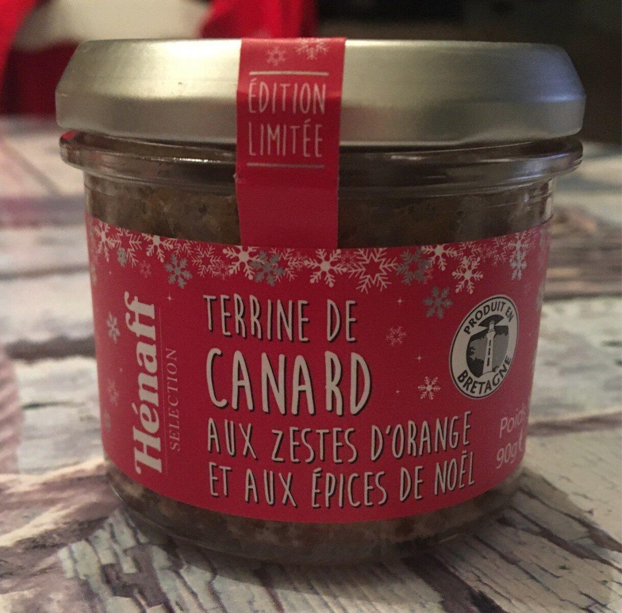 Terrine de canard aux zestes d'oranges et aux épices de Noël - Product - fr
