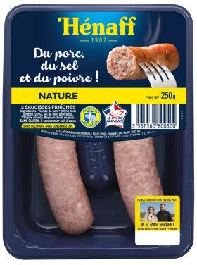 La Saucisse Nature - Produit - fr