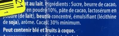 Un amour de lait - Ingrédients - fr