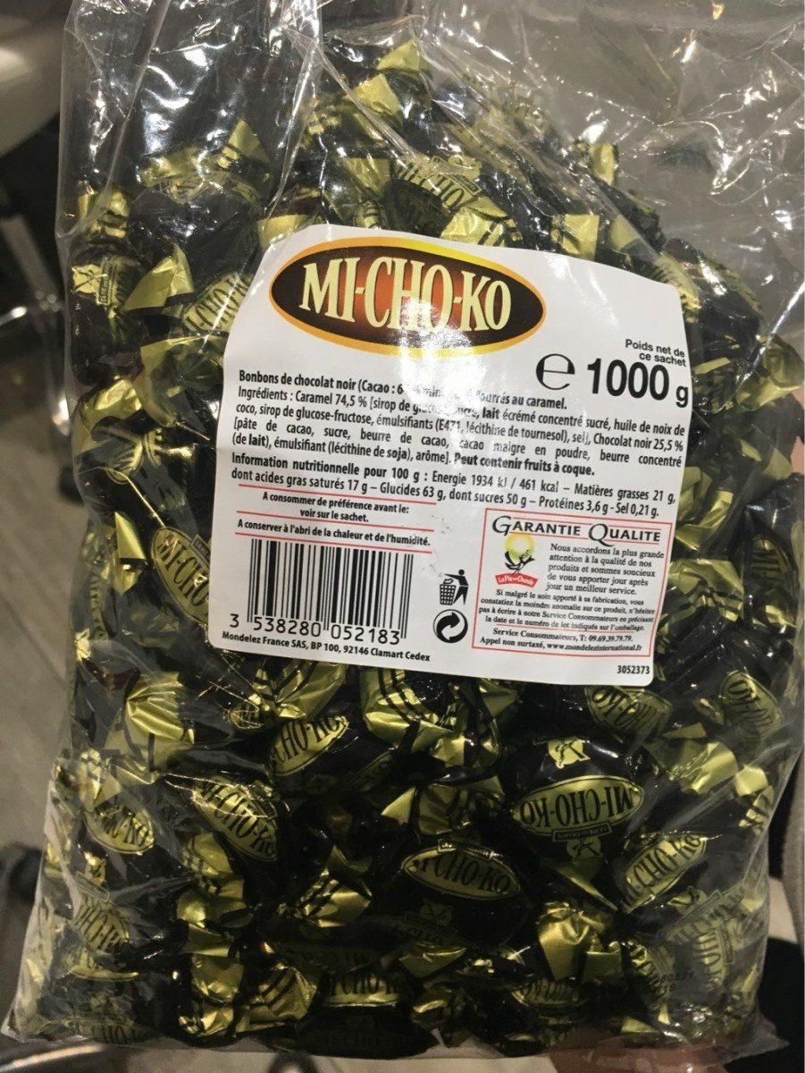 1KG Michoko Noir 64% La Pie Qui Chante - Product - fr
