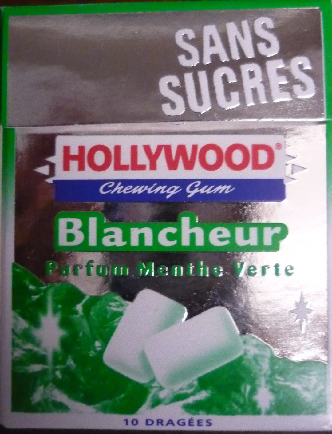 Hollywood Blancheur parfum Menthe Verte - Product
