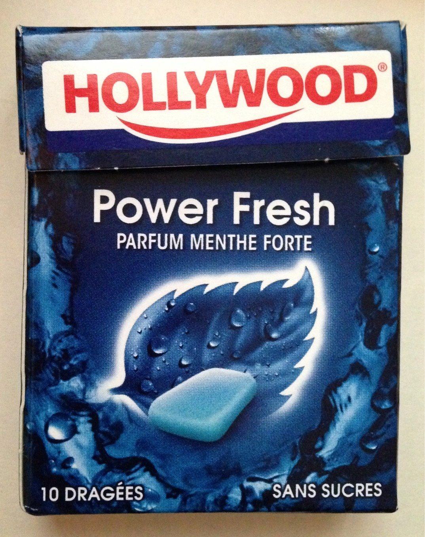 Chewing gum Power Fresh parfum Menthe forte - Produit