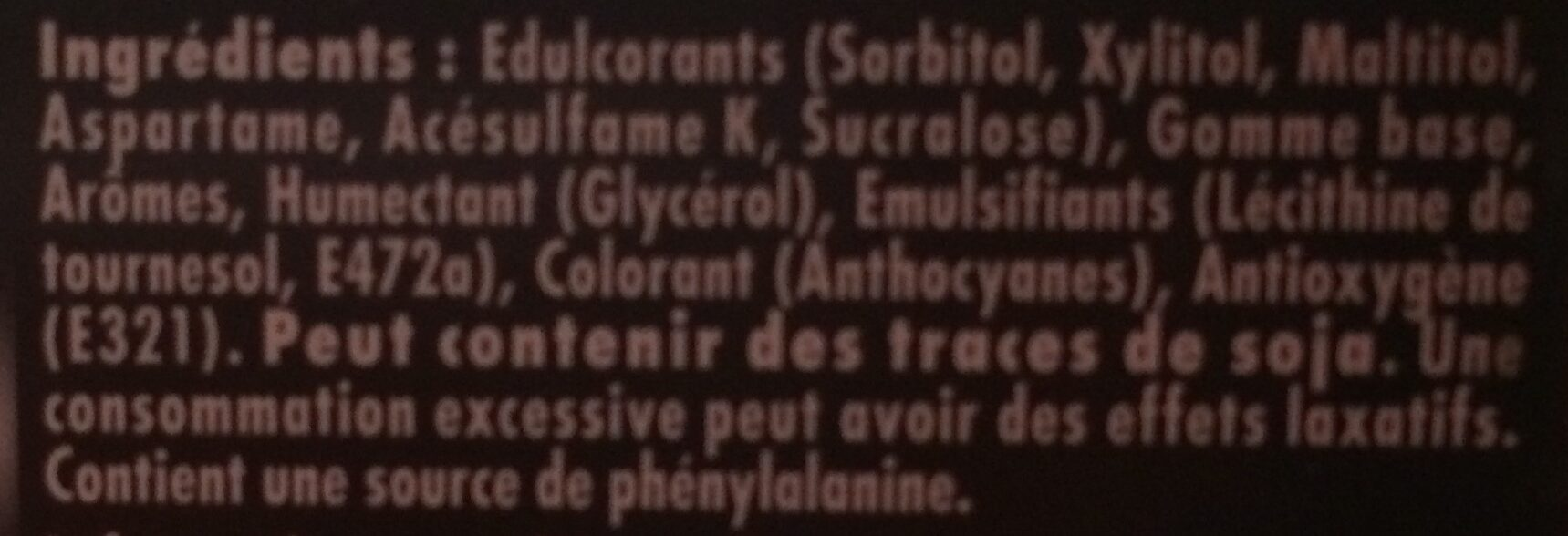 Parfums Menthe / Cannelle Style - Ingrediënten - fr