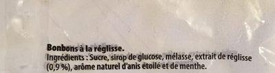 Stoptou - Ingrediënten