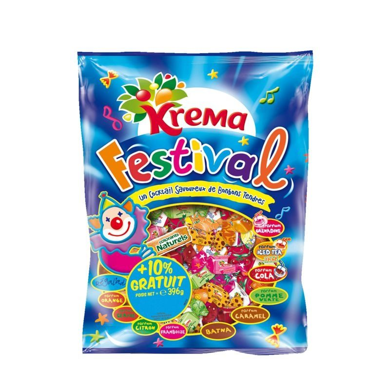 Assortiment de bonbons Festival KREMA, sachet de - Product - fr