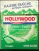 Dragées Green Fresh parfum Menthe verte - Produit