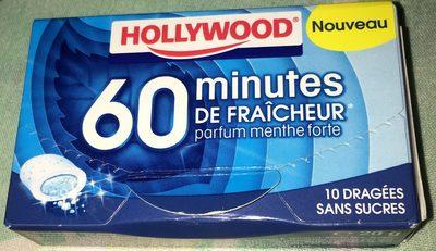 60 minutes de fraîcheur parfum menthe forte - Product