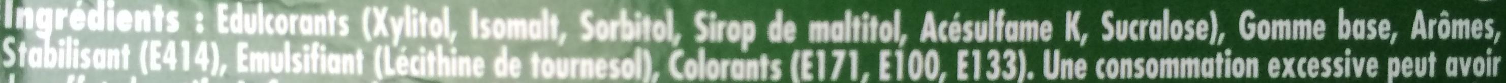 60 minutes fraicheur - Ingredients - fr