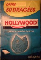 Hollywood dragées sans sucre menthe fraiche x5 - Product