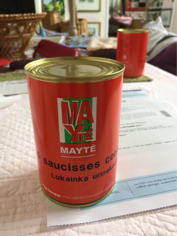 Saucisses confites - Product