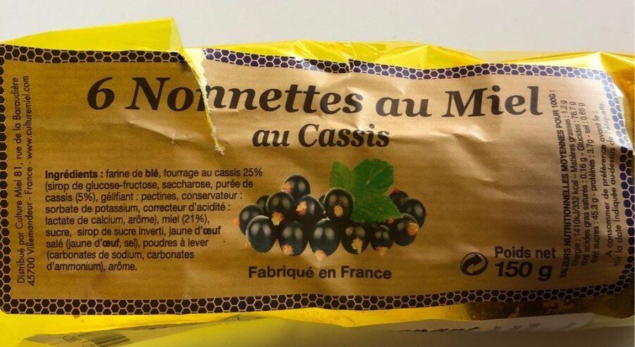 Nonnettes Miel Cassis Culture Miel 150 G