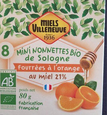 Mini nonnettes de sologne - Produit