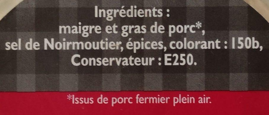 Rillettes de copains - Ingredients - fr
