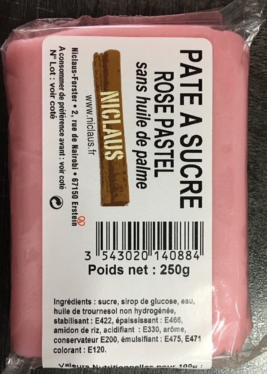 Pate a sucre - Product