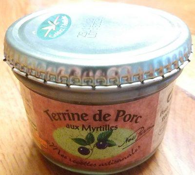 Terrine de Porc aux myrtilles - Product