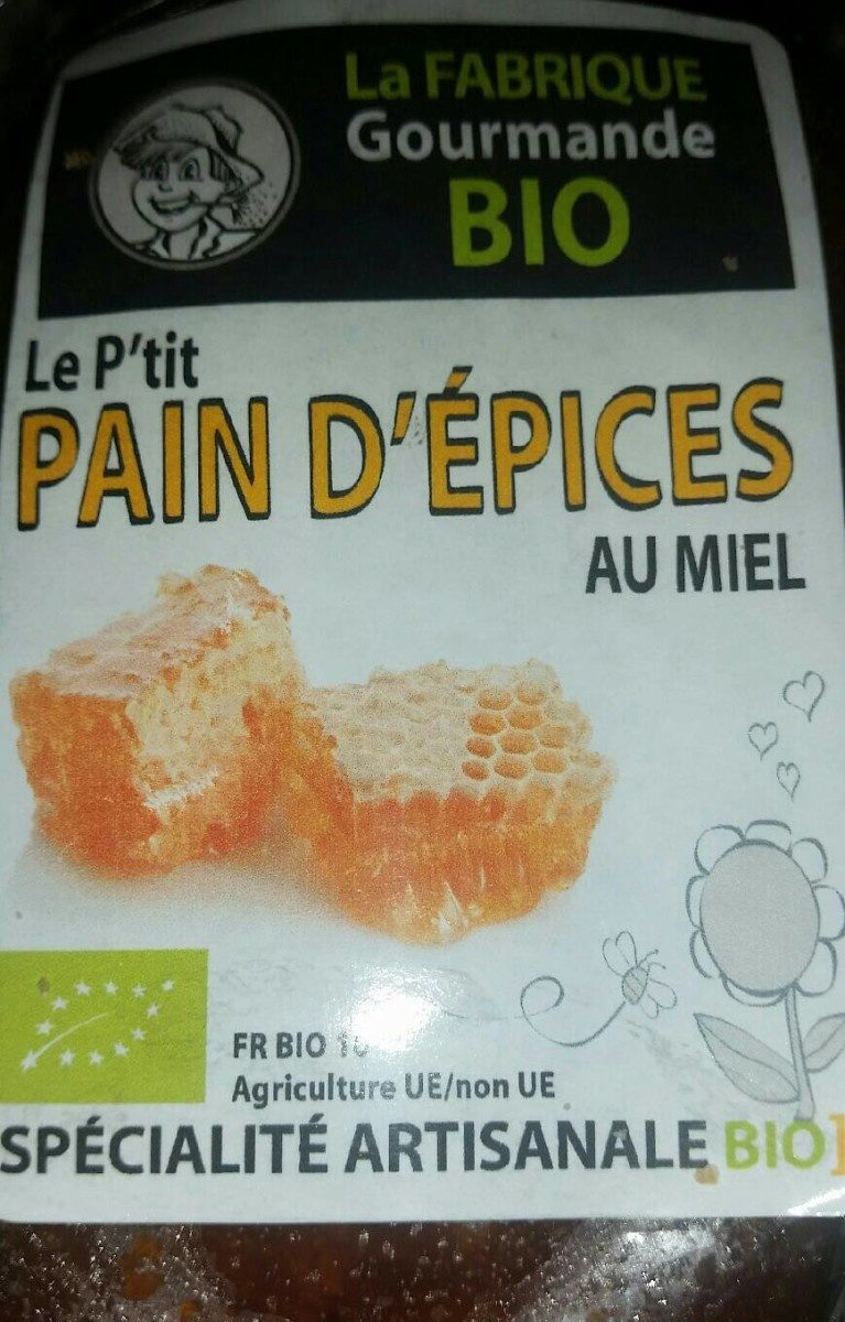 Pain D Epices Bio - Product - fr