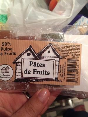 Pate de fruit - Product