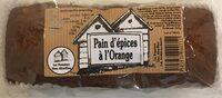 Pain d'épices à l'orange - Prodotto - fr