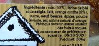 Pain d'épices à l'orange - Ingredienti - fr