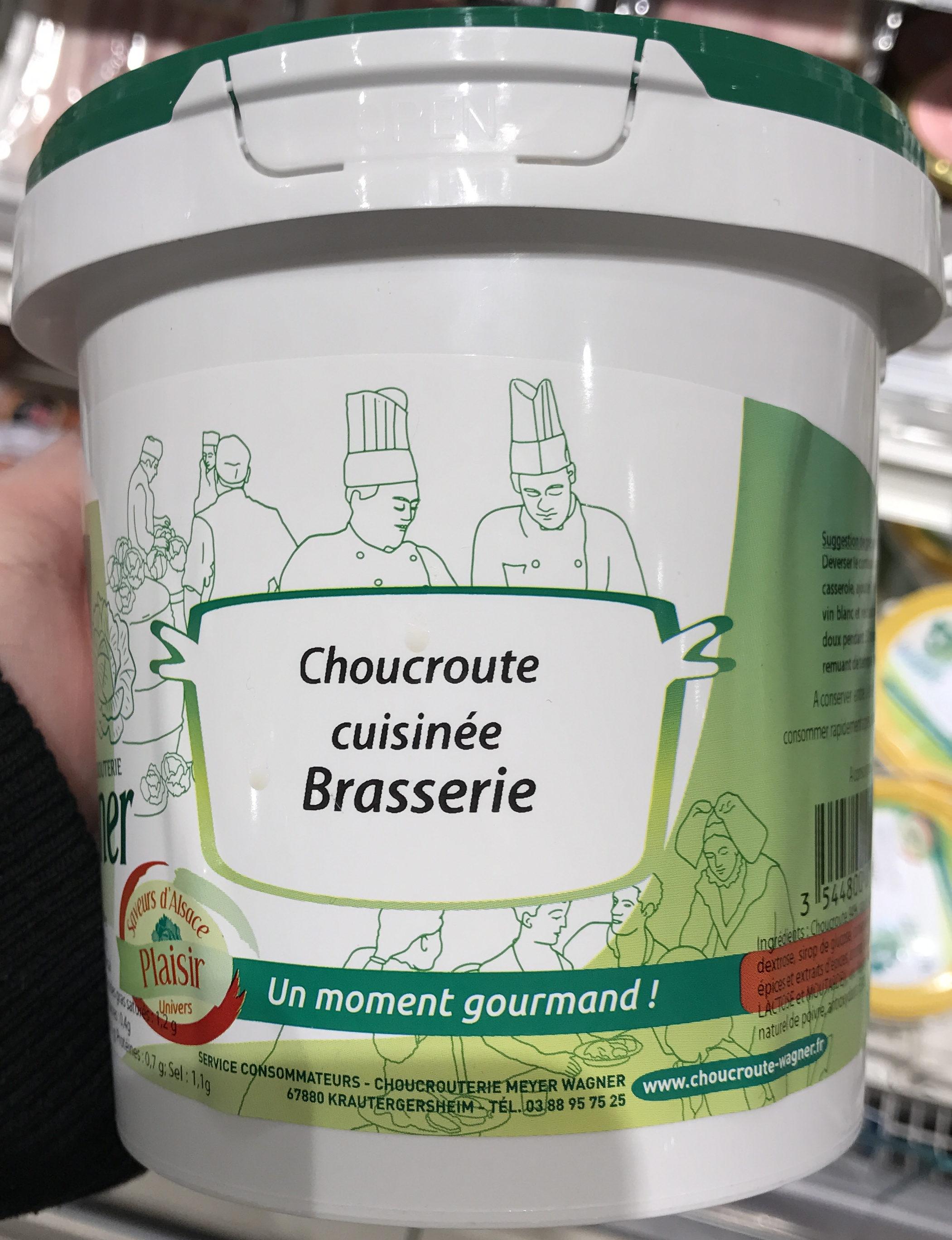 Choucroute cuisinée brasserie - Produit - fr