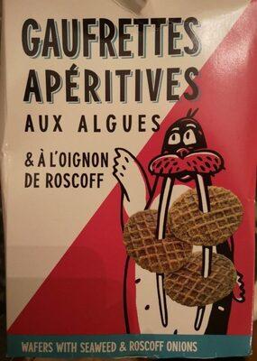 Gaufrettes apéritives aux algues & à l'oignon de roscoff - Produit - fr