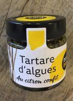 Tartare d'algues au citron confit - Product