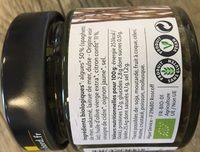 Tartare d'algues au citron confit - Ingredients