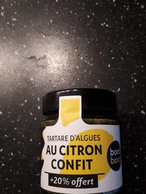 Tartare algue citron confit 135g - Product