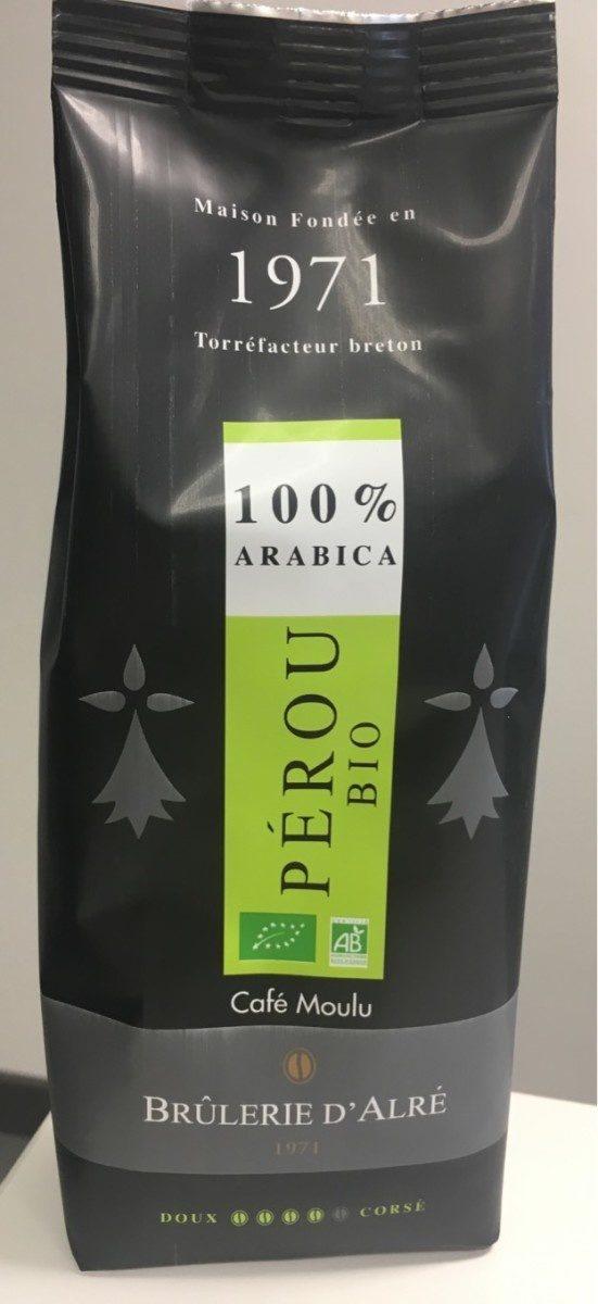 Café moulu, Pérou bio, 100% arabica - Product - fr