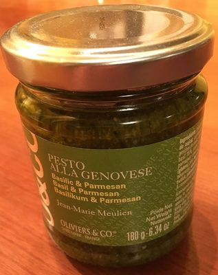 Pesto alla genovese - Produit - fr