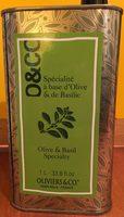Spécialité à Base d'Olive et de Basilic - Produit