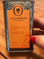 Huile olive & mandarine fraiches pressées - Product