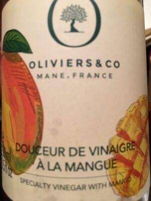 Douceur de vinaigre à la mangue - Product - fr