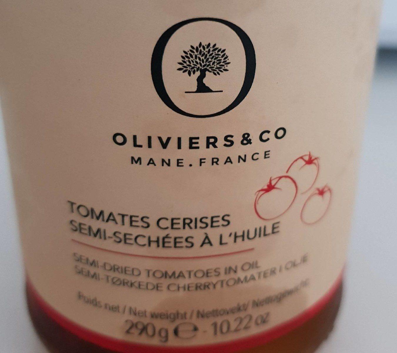 Tomates cerises semi-séchées à l'huile - Product