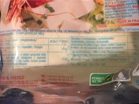 Tofu traditionnel - Nutrition facts
