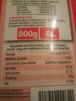 Poudre de tomates - Inhaltsstoffe - fr