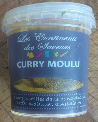 Curry moulu - Produit
